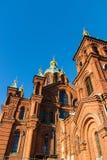 Uspenski Russian Orthodox Church. Helsinki, Finland Royalty Free Stock Image
