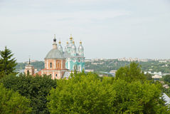 Uspenskii cathedral in Smolensk Royalty Free Stock Photography