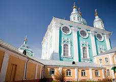 Uspenskii cathedral in Smolensk Royalty Free Stock Photos
