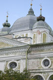 Uspenskikathedraal, Tartu stock foto