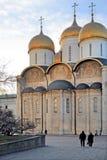Uspenskiy cathedral Stock Images