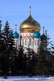 Uspenskiy cathedral. Royalty Free Stock Images