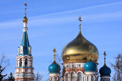 Uspenskiy cathedral. Royalty Free Stock Photo