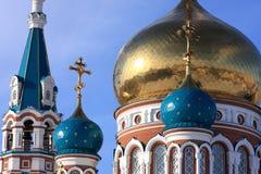 Uspenskiy cathedral. Royalty Free Stock Photo