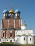 Uspenskiy Cathedral of the Ryazan Kremlin Royalty Free Stock Image