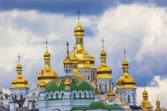 Uspenskiy Katedralny Święty wniebowzięcie Lavra Katedralny Kijowski Ukraina Obraz Stock