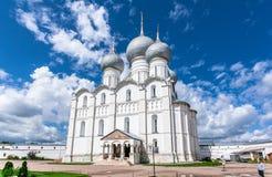 Uspenskiy Katedralny ortodoksyjny w Rostov Zdjęcie Stock