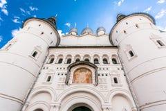 Uspenskiy Katedralny ortodoksyjny w Rostov Zdjęcia Royalty Free