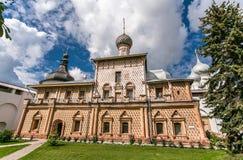 Uspenskiy Katedralny ortodoksyjny w Rostov Fotografia Royalty Free