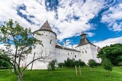 Uspenskiy Katedralny ortodoksyjny w Rostov Fotografia Stock