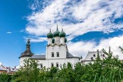 Uspenskiy Katedralny ortodoksyjny w Rostov Obrazy Royalty Free