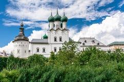 Uspenskiy Katedralny ortodoksyjny w Rostov Zdjęcie Royalty Free