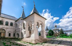 Uspenskiy Katedralny ortodoksyjny w Rostov Obraz Royalty Free