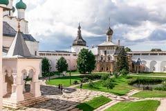 Uspenskiy Katedralny ortodoksyjny w Rostov Zdjęcia Stock