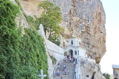 Uspenskiy monastery in Crimea near Bakhchisarai Royalty Free Stock Image