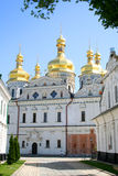 Uspenskiy temple in Pecherskaya Lavra - Kiev Royalty Free Stock Image