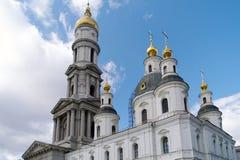 uspensky的大教堂 免版税库存照片