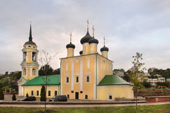 Uspensky Admiralty church in Voronezh city, Russia. Uspensky Admiralty church XVII century is the oldest surviving church in Voronezh. The full name of the Royalty Free Stock Images