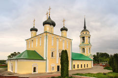 Uspensky Admiralty church in Voronezh city, Russia royalty free stock images