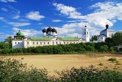 Uspensky (Annahme) Trifonov Kloster, Kirov Lizenzfreie Stockfotos