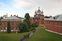 Uspensky Brusensky kloster i den Kolomna Kreml, Ryssland Arkivfoto