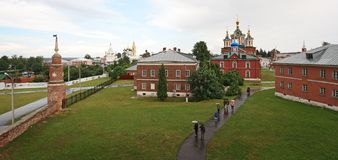 Uspensky Brusensky monaster w Kolomna Kremlin Zdjęcie Royalty Free