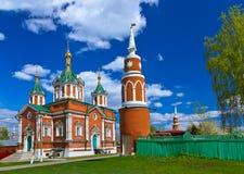 Uspensky Brusensky monastery in Kolomna Kremlin - Russia - Mosco Stock Images