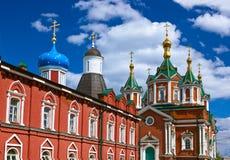 Uspensky Brusensky monastery in Kolomna Kremlin - Russia - Mosco Royalty Free Stock Photos