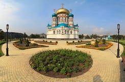 Uspensky Cathedral. Royalty Free Stock Photo