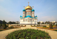 Uspensky Cathedral. Royalty Free Stock Photos