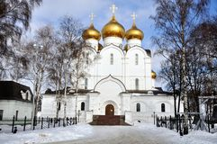 The Uspensky Cathedral Stock Images