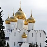 The Uspensky Cathedral Royalty Free Stock Photography