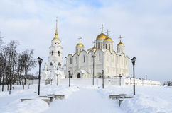 Uspensky cathedral city Royalty Free Stock Image