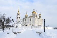 Uspensky cathedral city Royalty Free Stock Image
