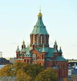 Uspensky Cathedral in Helsinki. Built 1868 Stock Photo