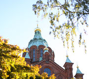 Uspensky Cathedral Helsinki Royalty Free Stock Photography