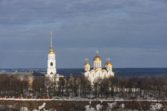 Uspensky cathedral Stock Photo
