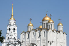 Uspensky Cathedral In Vladimir Royalty Free Stock Photo
