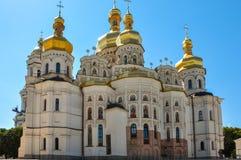 Uspensky Cathedral in Kiev Pechersk Lavra, Kiev, Ukraine Royalty Free Stock Photo