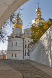 Uspensky cathedral, Kiev-Pechersk lavra monastery. Royalty Free Stock Image