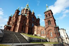 Uspensky Cathedral Stock Photography