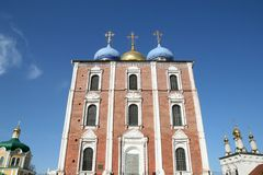 Uspensky cathedral in Ryazan Royalty Free Stock Photography