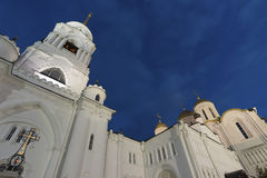 Uspensky Cathedral - UNESCO World Heritage Site Stock Images