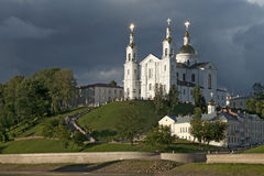Uspensky Cathedral in Vitebsk, Belarus Royalty Free Stock Photos