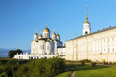 Uspensky Cathedral in Vladimir, Russia.  Royalty Free Stock Images