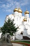 Uspensky cathedral in Yaroslavl Royalty Free Stock Image