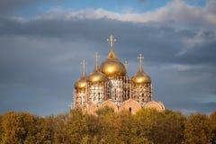 The Uspensky Cathedral of Yaroslavl royalty free stock photo