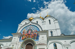 Uspensky Cathedral in Yaroslavl Russia Stock Images