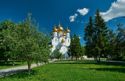 Uspensky Cathedral in Yaroslavl Russia Royalty Free Stock Image