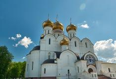Uspensky Cathedral in Yaroslavl Russia Stock Photos